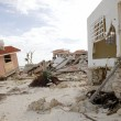 Cancun houses after hurricane storm — Stock Photo #5509478