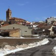 Stock Photo: Snow village Teruel Province Spain SAgustin