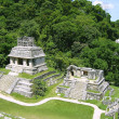 Palenque mayan ruins maya Chiapas Mexico - Stock Photo