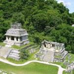 Palenque mayan ruins maya Chiapas Mexico — Stock Photo #5509872