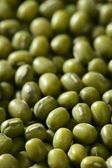 Green soya beans texture — Stock Photo