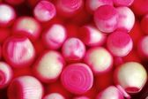 Pickled onions red vinegar pattern texture — Stock Photo