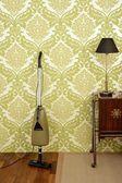 Papel de parede do aspirador retro vintage anos 60 — Foto Stock