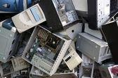 Hardware computer desktop recycle industry — Stock Photo
