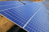 Solar electric plates green energy ecology — Stock Photo