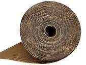 Envases de cartón cartón textura en color marrón — Foto de Stock