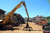 Scrap metal scrap-iron junk — Stock Photo