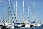 Marina in Denia, Alicante, Spain — Stock Photo