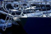 Marina en mer méditerranée — Photo