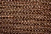 Hnědá textilie a kůže textury pozadí — Stock fotografie