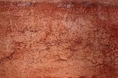 Grunge red brown aged crackle wall texture — Stock Photo