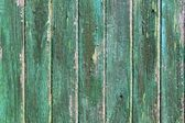 Aged weathered green wooden paint door textures — Stock Photo
