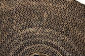 Kartónové balení karton textury v brown — Stock fotografie