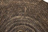 Karton textuur kartonnen verpakking in bruin — Stockfoto