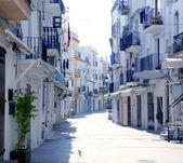 Ibiza from balearic islands in Spain — Stock Photo