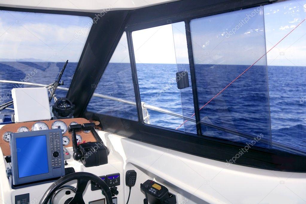 элементы управления лодкой