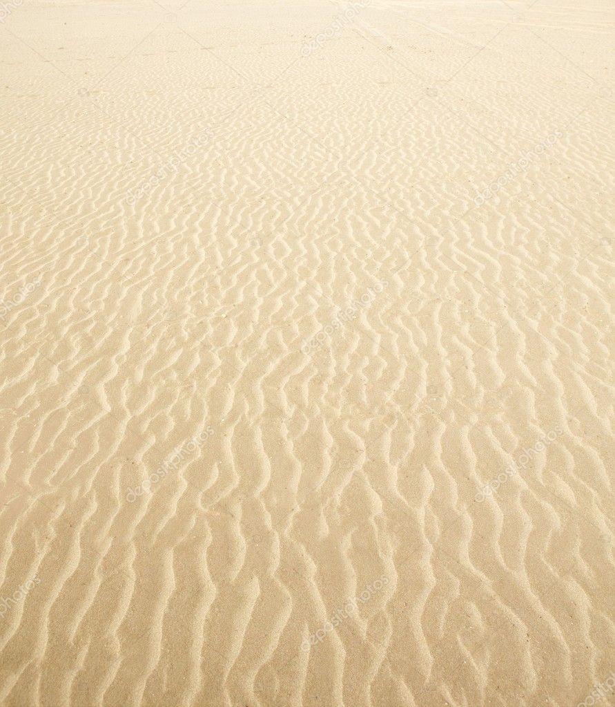 Beach Sand Waves Warm Texture Background