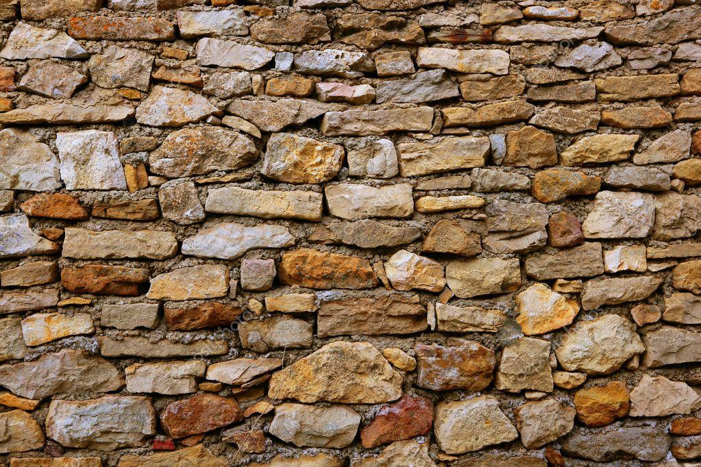 Metselwerk stenen muur textuur oude spanje eeuwenoude - Colocar piedra en pared ...