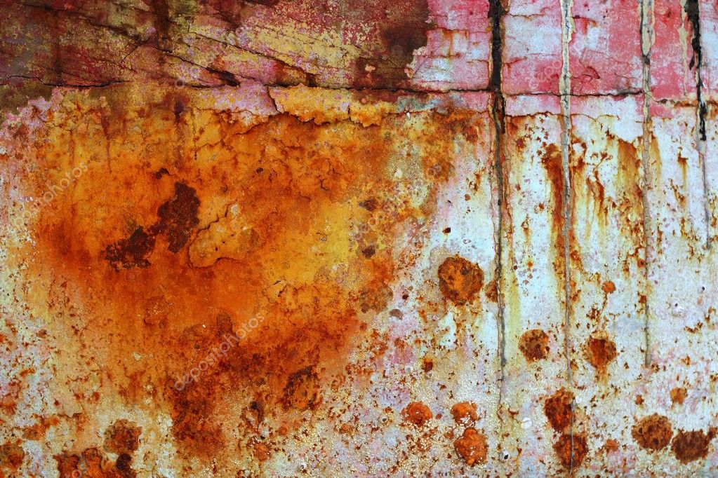 Rusting Steel Iron Rusty Grunge Aged Steel Iron