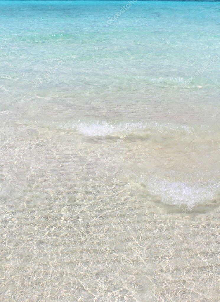 tropischen Strand sand...