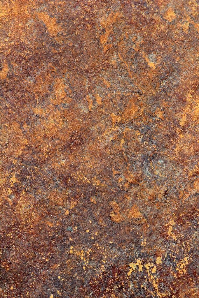 Piedra pizarra gris fondo de textura de color ruety foto - Piedra pizarra oxidada ...