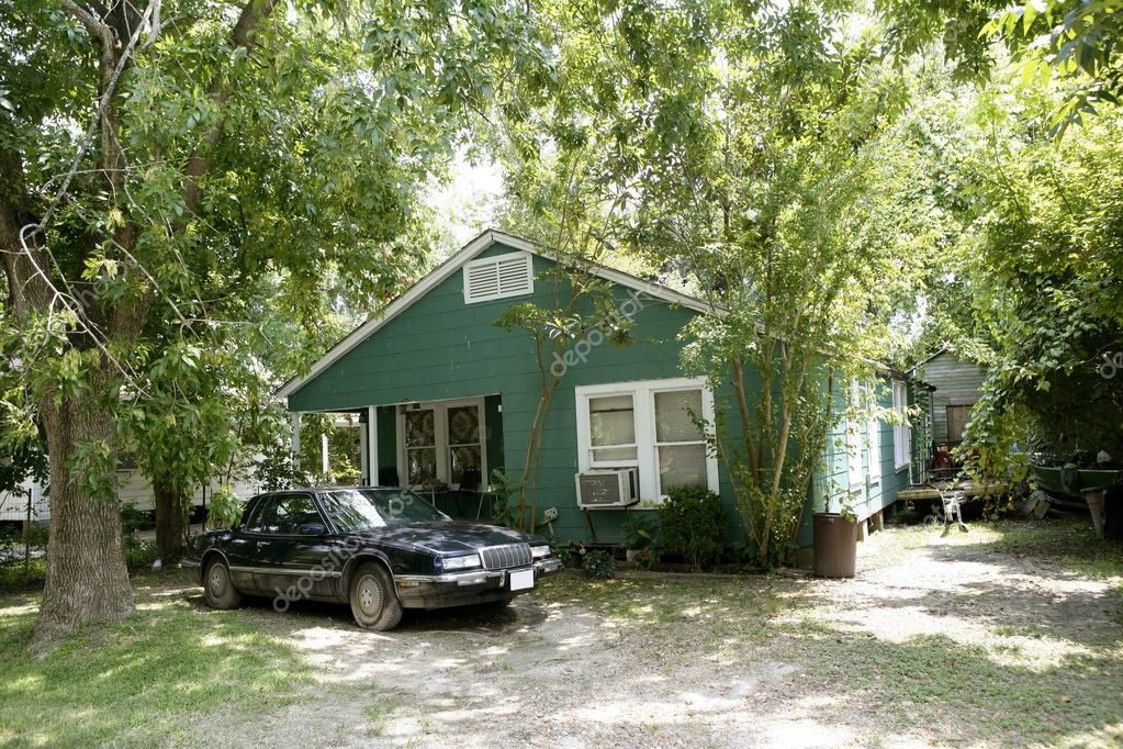 Case di campagna in texas con alberi foto stock for Case con scantinati in texas