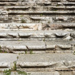 Royalty-Free Stock Photo: Aged weathered ancient roman stairs