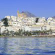 Altea Alicante province Spain view from blue sea — Stock Photo