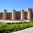 Aljaferia palace castle in Zaragoza Spain Aragon — Stock Photo #5510746