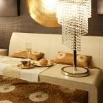 Asian modern bedroom breakfast luxury table — Stock Photo #5510904