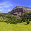 Bisaurin peak Pyrenees panoramic scenics Huesca - Stock Photo