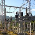 Electric transformer station little village size — Stock Photo #5511087