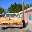 Aged vintage weathered truck in mexico — Stock Photo #5511297