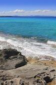 Escalo Formentera turquoise mediterranean sea — Stock Photo