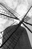 Balearic islands windmill wind mills Spain — Stock Photo