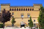 Ayerbe Palácio palacio em Espanha de Aragão — Fotografia Stock