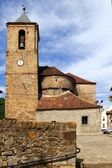Romanesque cathedral church in Hecho Aragon — Stock Photo