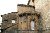 Jaca romanesque cathedral church Pyrenees spain — Stock Photo