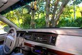 リビエラ ・ マヤのジャングルでレトロなインテリア — ストック写真