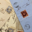 Anonymous handwritten real old letters from Spain — Stock Photo #5557753
