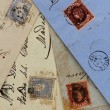 Anonymous handwritten real old letters from Spain - Stok fotoraf