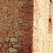 Royalty-Free Stock Photo: Bricks corner detail in masonry wall ancient