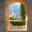 Santa Maria de la Valldigna Simat Monastery Spain - Stock Photo