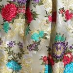Falleras costume fallas dress detail from Valencia — Stock Photo #5561737