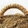 Esparto grass handcraft basket handle texture — Stock Photo #5569235