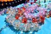 Crystal transarent juwelen macro detail — Stockfoto