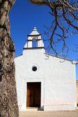 Ermita la Xara Simat de la Valldigna white church — Stock Photo