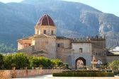 Santa Maria de la Valldigna Simat Monastery Spain — Stock Photo