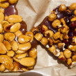Royalty-Free Stock Photo: Candied almonds and hazelnuts nuts