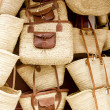 Stock Photo: Basketry basket shop IbizBalearic Island